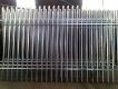Zinc coated fencing panels